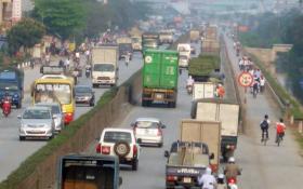 """DN vận tải """"kêu trời"""" vì bị """"ép"""" đi đường cao tốc Hà Nội – Hải Phòng"""