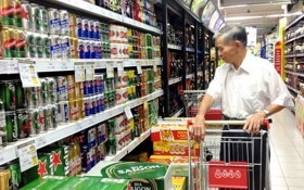 Thị trường đồ uống sôi động trước Tết