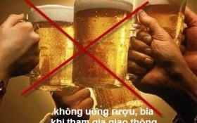 15% tai nạn giao thông liên quan đến rượu bia
