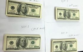 Chuyển vụ án gần 30.000 USD giả sang cơ quan An ninh điều tra