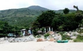 Lại 1 công trình trái phép tại khu vực phòng thủ quân sự trên rừng Hải Vân