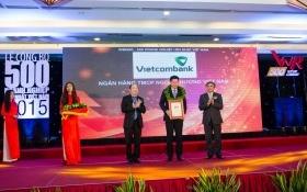 Vietcombank tiếp tục nằm top 50 doanh nghiệp lớn nhất Việt Nam.