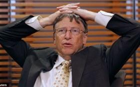Đầu năm 2016, Bill Gates mất trắng 6,8 tỷ USD