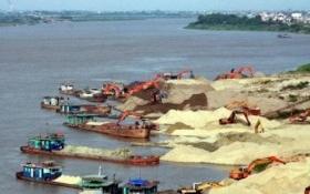 Phó Thủ tướng chỉ đạo xử lý nghiêm khai thác cát lòng sông