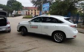 Lexus 3 tỷ đồng chạy taxi ở Phú Thọ