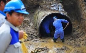 Tạm dừng ký hợp đồng với nhà thầu cung cấp đường ống dự án nước Sông Đà