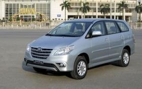 Toyota Việt Nam triệu hồi gần 800 xe Innova do lỗi cửa sau