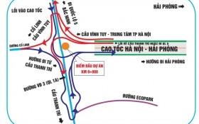 Từ Cầu Giấy đi cao tốc Hà Nội - Hải Phòng, vào bằng đường nào?