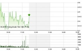 """Chứng khoán sáng 25/5: Bluechip khiến VN-Index """"chóng mặt"""""""