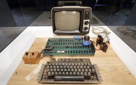 Phát hiện chiếc máy tính thế hệ đầu tiên của Apple trong đống rác tái chế