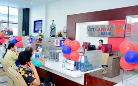 Viet Capital Bank khai trương trụ sở mới chi nhánh Bình Dương