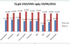 Tỷ giá USD/VND hôm nay (29/06): Giật lùi