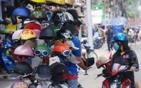 Điều kiện kinh doanh mũ bảo hiểm cho người đi mô tô, xe máy
