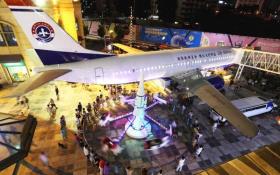 Nhà hàng siêu độc bên trong máy bay Boeing 737
