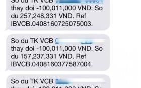 Ngân hàng Vietcombank thông tin vụ chủ thẻ mất 500 triệu đồng chỉ qua một đêm
