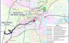 Đề xuất vay ODA Nhật Bản xây metro tuyến số 3a Tp.HCM trị giá 2,82 tỷ USD