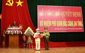 Đại tá Nguyễn Đức Dũng là Phó Giám đốc Công an tỉnh Quảng Nam
