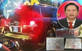 Kỷ luật Trưởng phòng CSGT cấp 'biển xanh' cho xe Lexus của Trịnh Xuân Thanh
