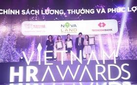 Novaland đoạt 03 giải thưởng cho 03 hạng mục tại Việt Nam HR Awards 2016