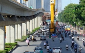 Dự án đường sắt Cát Linh - Hà Đông lại trễ hẹn thêm 9 tháng