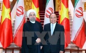 Thủ tướng Nguyễn Xuân Phúc tiếp Tổng thống Iran Hassan Rouhani