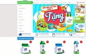 """Vinamilk ra mắt website thương mại điện tử """" Giấc mơ sữa Việt"""""""