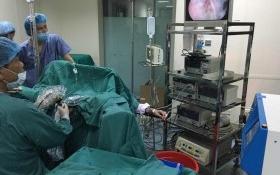 Bệnh viện Việt Nam thứ 2 mổ thành công nội soi bóc bướu phì tiền liệt tuyến