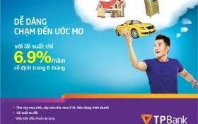 TPBank ưu đãi lãi suất cho vay cá nhân chỉ từ 6,9%/năm
