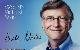 """Chữ """"tiền"""" và nỗi sợ… """"tiền"""" của Bill Gates"""
