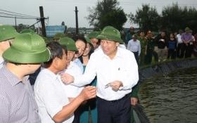Phó Thủ tướng Thường trực kiểm tra công tác bồi thường thiệt hại tại Hà Tĩnh