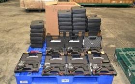 Tịch thu 94 khẩu súng quân dụng, 472 băng đạn vận chuyển qua đường hàng không