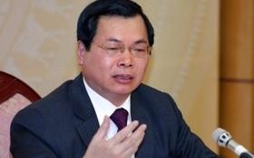 Ban bí thư kỷ luật nguyên Bộ trưởng Vũ Huy Hoàng
