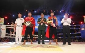 Võ sĩ Lương Bá Tá khiến khán giả Quảng Ngãi ngây ngất trong chiến thắng