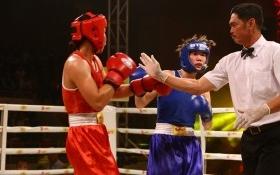 Sơn nữ Lừu Thị Duyên đại bại trong trận so găng với võ sĩ chủ nhà Hà Nội