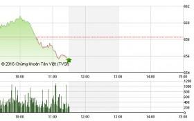 Chứng khoán sáng 30/11: VN-Index vẫn giảm nhưng có dấu hiệu phục hồi nhẹ