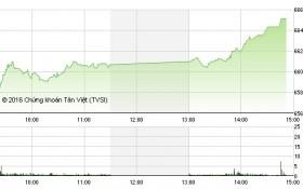 """Chứng khoán chiều 14/12: Cổ phiếu đầu cơ """"nổi sóng"""", VN-Index bứt phá mạnh"""