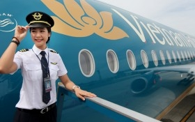 Ngày 3/1/2017, sàn UPCoM cùng lúc đón 2 ông lớn Vietnam Airlines và Vinatex