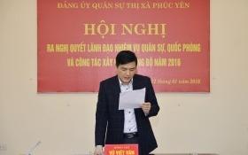 Ông Vũ Việt Văn làm Phó chủ tịch UBND tỉnh Vĩnh Phúc