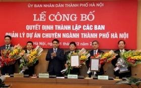 Hà Nội lập 5 Ban Quản lý dự án chuyên ngành