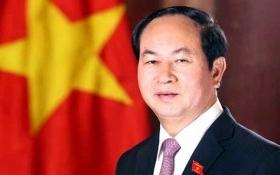 Chủ tịch nước Trần Đại Quang gửi thông điệp năm mới