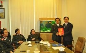 Bộ Xây dựng bổ nhiệm tân Chánh Thanh tra