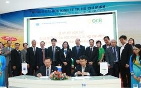 Ngân hàng OCB và trường ĐH Kinh tế TPHCM ký hợp tác lần 2