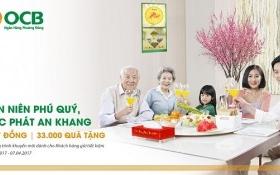 """OCB triển khai chương trình """"Tân niên phú quý – Lộc phát an khang"""""""