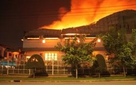 """Tài sản chủ tịch công ty In Nông nghiệp """"bốc hơi"""" theo đám cháy"""