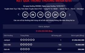 Lần đầu tiên Hà Nội có người trúng giải Vietlott hơn 31 tỷ đồng