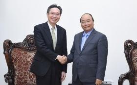 Thủ tướng tiếp doanh nghiệp Nhật Bản, Trung Quốc