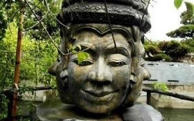 Bí ẩn bức tượng nữ thần 4 mặt trong dinh thự của đại gia Trầm Bê