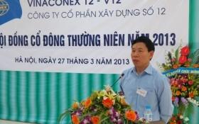 Vinaconex miễn nhiệm thành viên HĐQT phụ trách xử lý nợ