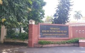 Sai phạm tại Viện Hàn lâm Khoa học và Công nghệ Việt Nam làm đội chi phí 4,2 tỉ đồng