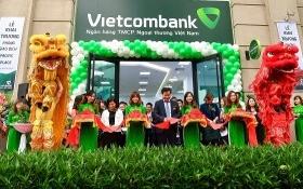 Vietcombank Ba Đình khai trương Phòng giao dịch Pacific Palace
